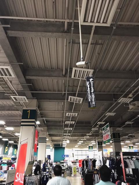 大型スポーツ店 災害復旧工事