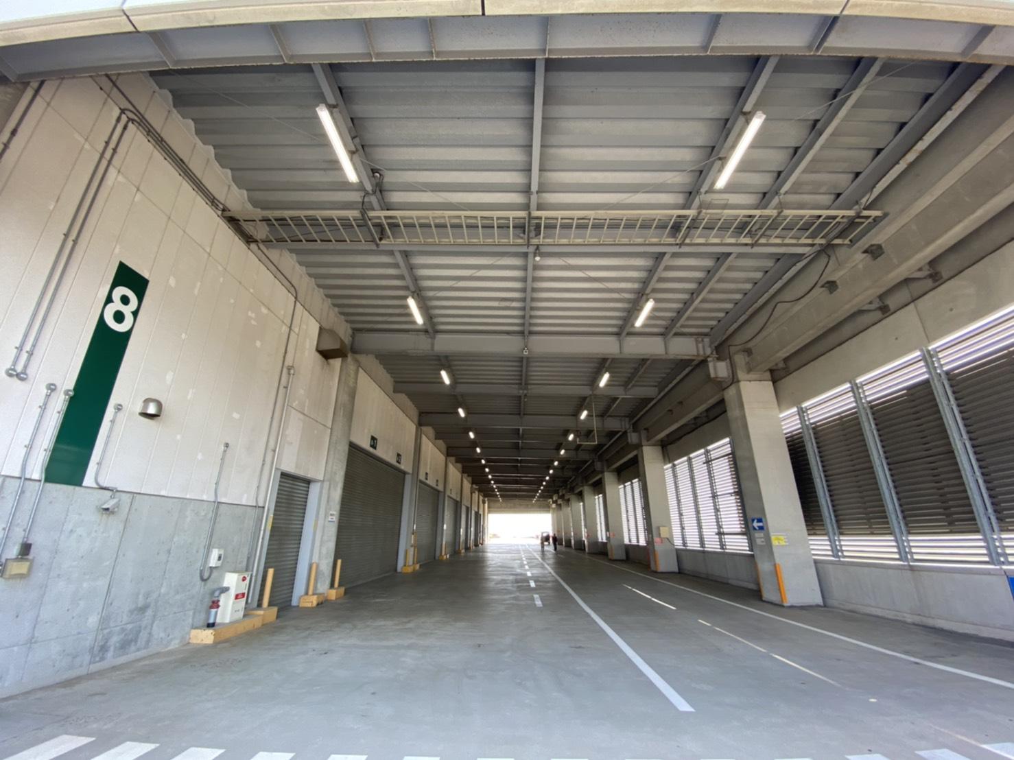 物流倉庫LED化工事
